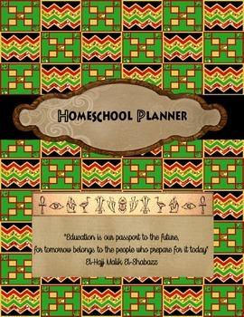 RBGG Homeschool Planner Cover