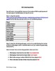RBI Graphing Worksheet