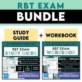 RBT Exam Study Guide BUNDLE | Workbook + Study Guide + Fla