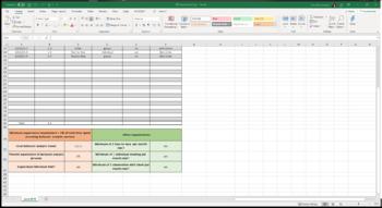 RBT Supervision Log (Excel spreadsheet)