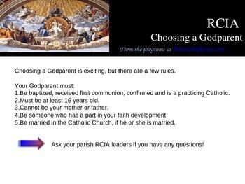 RCIA Rites and Sacraments, Powerpoint teaching presentatio