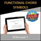 RCM Level 7 Functional Chord Symbols
