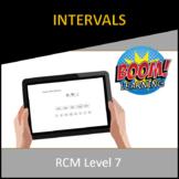 RCM Level 7 Intervals