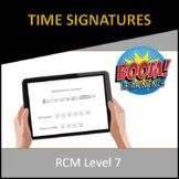 RCM Level 7 Time Signatures