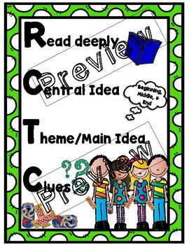 RCTC Reading Strategy Poster