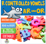 R-Controlled Vowels ar, or ~Phonics~ Activity Pack