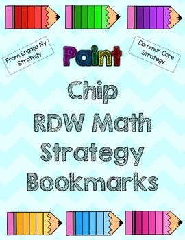 RDW Strategy Bookmarks