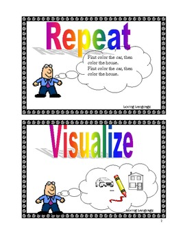 RE-VIS- Visual cues for facilitating retention of Auditory Stimuli