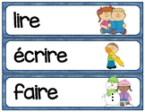 French RE verb wordwall/flashcards