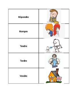 RE verbs game