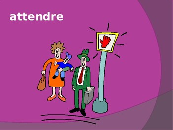 RE verbs in French PowerPoint