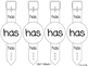 REACH for Reading 1st Grade High Frequency Word Bracelets Unit 1