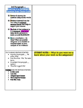 REACTION PAPER TEMPLATE
