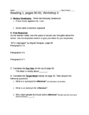 READ 180, Workshop 4 (Stage C), Reading 1 Worksheet