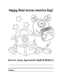 READ ACROSS AMERICA ACTIVITIES, BUNDLE 3 PAGES, READ ACROSS AMERICA COLORING