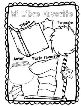 FAVORITE BOOK POSTER-SPANISH