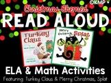 READ ALOUD ELA & Math Activities {Turkey Claus & Merry Chr
