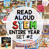 Elementary READ ALOUD STEM™ Activities and Challenges BUNDLE Back to School