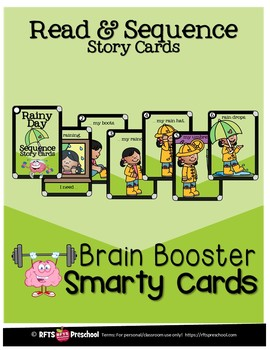 READ AND SEQUENCE STORY CARDS- SMARTY TASK CARDS