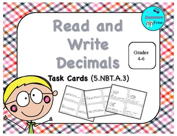 READ AND WRITE DECIMALS 5.NBT.A.3