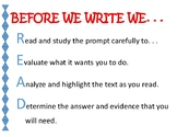 READ BEFORE YOU WRITE - TDA POSTER