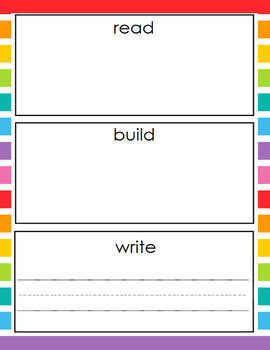 Read Build Write St Patrick S Day Theme By Little