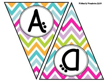 READ Banner Pennant - Pretty Chevron