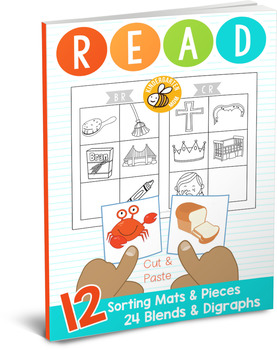 Learn to READ: Blends and Digraphs Sorting Mats