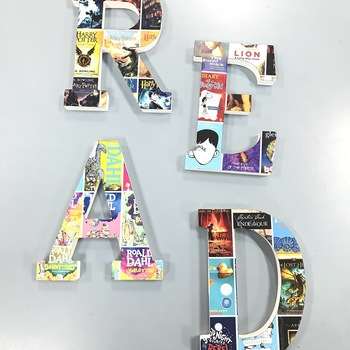 READ Book Covers Collage