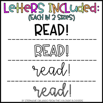 READ! Bulletin Board Display