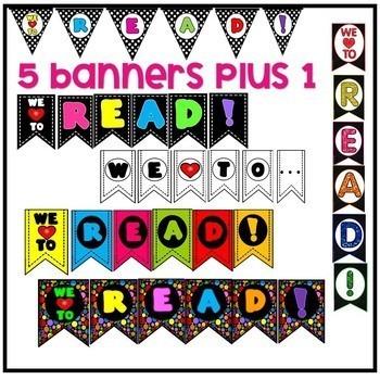 READ!  Bulletin Board to Promote Reading! EDITABLE!