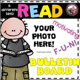 READ!  Bulletin Board to Promote Reading! EDITABLE TEMPLAT