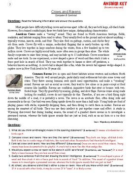 Reading Comprehension Passages and Questions   20 Worksheets (Gr. 3-7)