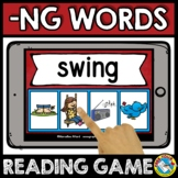READ MATCH CONSONANT ENDING DIGRAPH NG WORD WORK ACTIVITY BOOM CARDS CENTER GAME