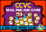 BEGINNING BLENDS GAME (CCVC WORDS ACTIVITIES) PHONICS READ