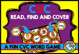 CVC WORDS GAME: CVC READING CENTER: PHONICS WORD WORK: BEE THEME CVC GAMES