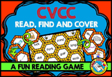 WORD WORK ACTIVITIES: READING CVCC WORDS CENTER: PHONICS G