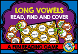 LONG VOWELS PHONICS REVIEW (BEE THEME LONG VOWEL WORD GAME
