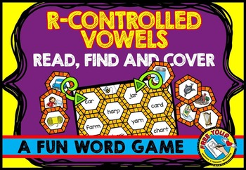R-CONTROLLED VOWELS WORD WORK ACTIVITIES: READING CENTERS: PHONICS ACTIVITIES
