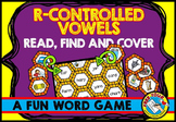 BOSSY R GAME (R CONTROLLED VOWELS ACTIVITY) WORD WORK CENTER FIRST GRADE