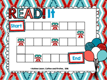 READ It Sight Word Board Game