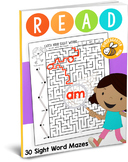 READ: Sight Word Maze Pack