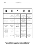 READ-O Card (Reading Log) 3rd-Middle School