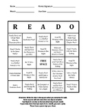 READ-O Card (Reading Log) Prek-2