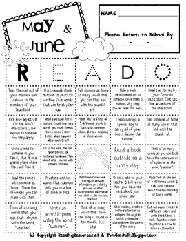 READ-O Home-School Reading Connection