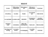 READ-O with Reading Log - Editable