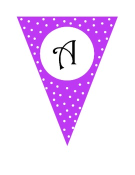 READ Polka Dot Banner