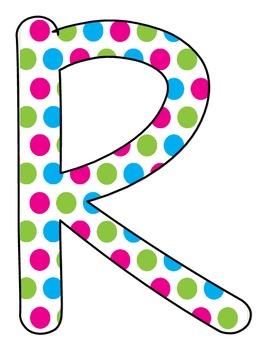 READ Poster Set- Polka Dots