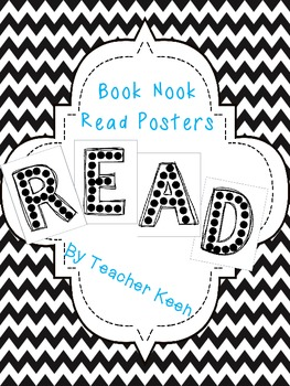 READ Posters for Book Nook wall