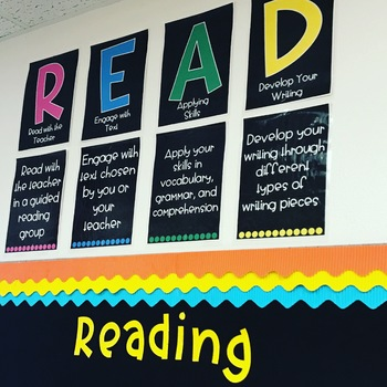 READ Posters for Small Groups and Rotation Stations